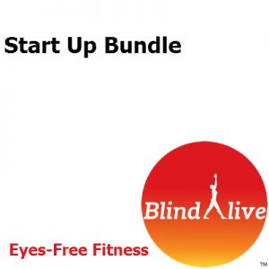 Startup Bundle of Audio-described fitness routines
